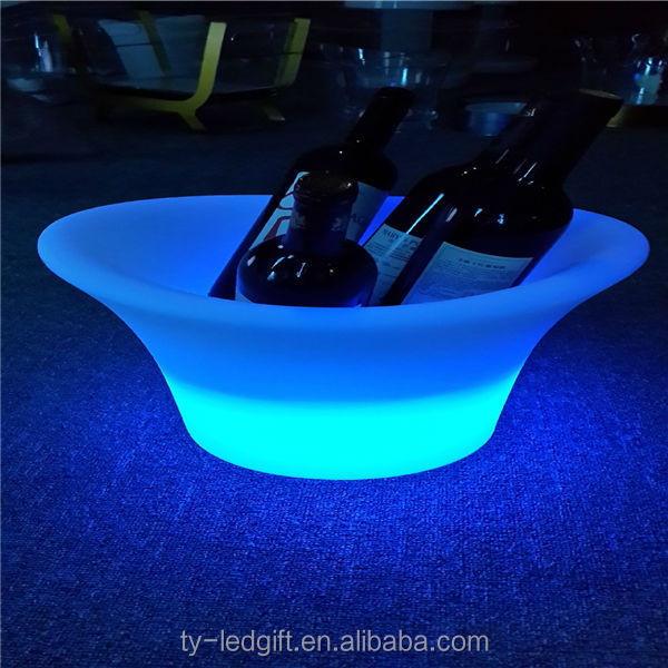 color change plastic led ice cooler party led ice cooler