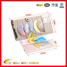 genuine leather car sun visor with cd holder manufacturers