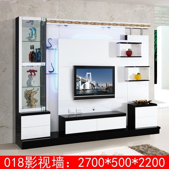 Living Room Corner Lcd Tv Stand Wooden Furniture 018 Modern Tv