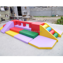 indoor kids play furniture LZ-PF126 soft play game