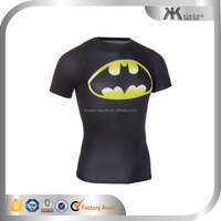 designer fitness wear tshirt custom printed t-shirt factory in china