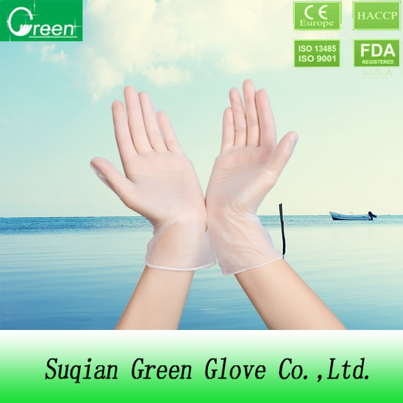 best selling products food grade disposable vinyl gloves