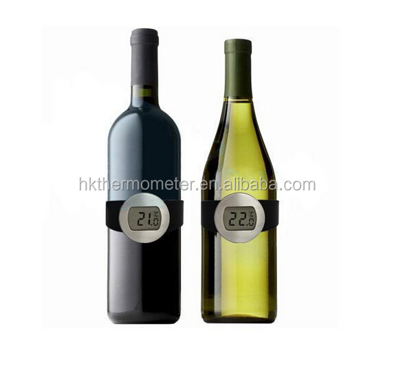 Household Red Wine Digital Wristband Thermometer