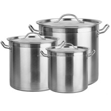 NSF Induction Ready 18/10 stainless steel cookware for Hotel & Restaurant