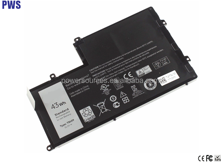 Laptop Battery TRHFF For DELL Inspiron 15 5000 14-5447 15-5547 Battery Series 58Wh