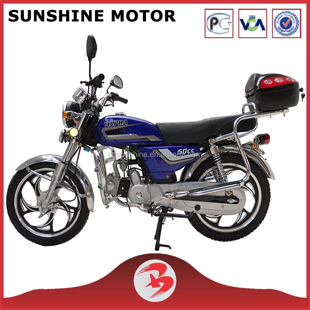 New Design Powerful 100CC EEC Moped Alpha Motorcycle