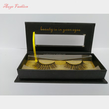 Invisible band private label mink eyelash strip cheap price premium wispy false lashes wholesale by custom eyelash packaging