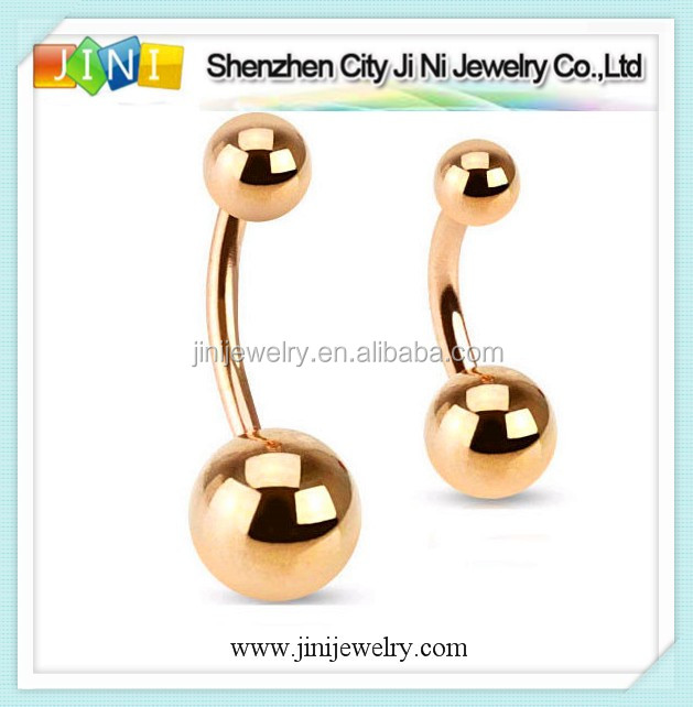 belly ring single gems
