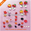 Fashion Plastic fruit and animal shoe buckles