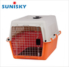 cheap price large size plastic pet carrier strong dog carrier