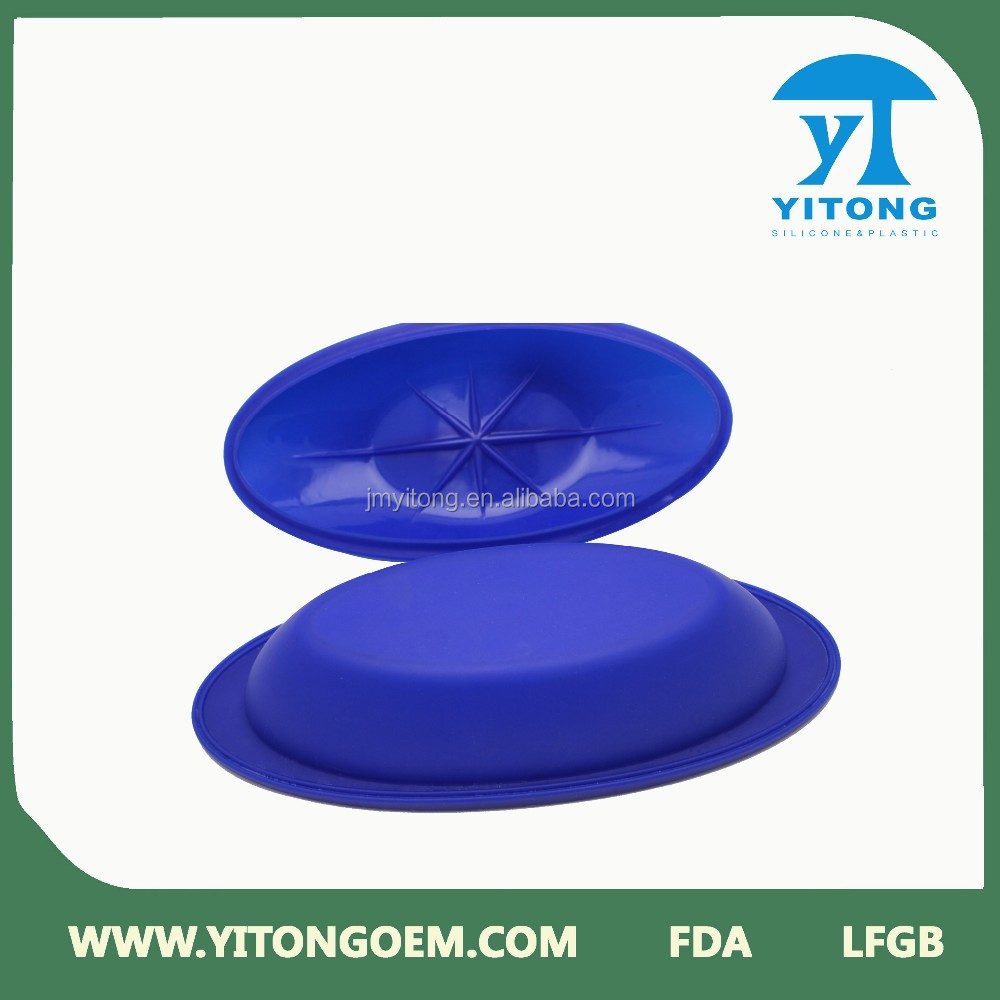 China wholesale food grade silicone mess tin