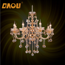 New design cheap 8 E14 lights wire hallway bronze antique chandelier