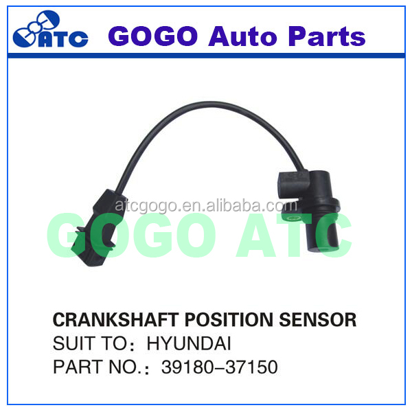 Crank Crankshaft Position Sensor for Hyundai Santa Fe Sonata Tiburon Optima OEM 39180-37150 3918037150 39180-37200 3918037200
