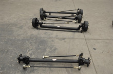 electric vehicle front axle