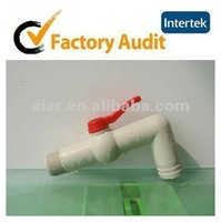 """XE"" pp-r plastic long water faucet for hot water equipments"