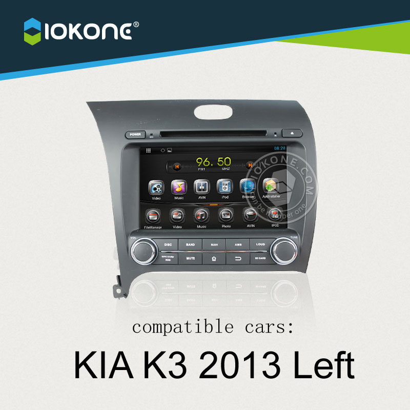China factory provide OEM Android car accessories For KIA K3 2013 Left with WIFI DTV