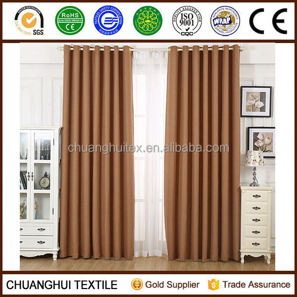 luxury hotel grommet dimout curtain