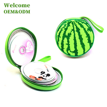 Wholesale hot saling nylon portable carrying cute DVD CD case for kids