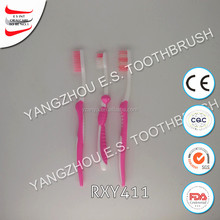 hot sale tongue magnetic folding toothbrush with toothpaste