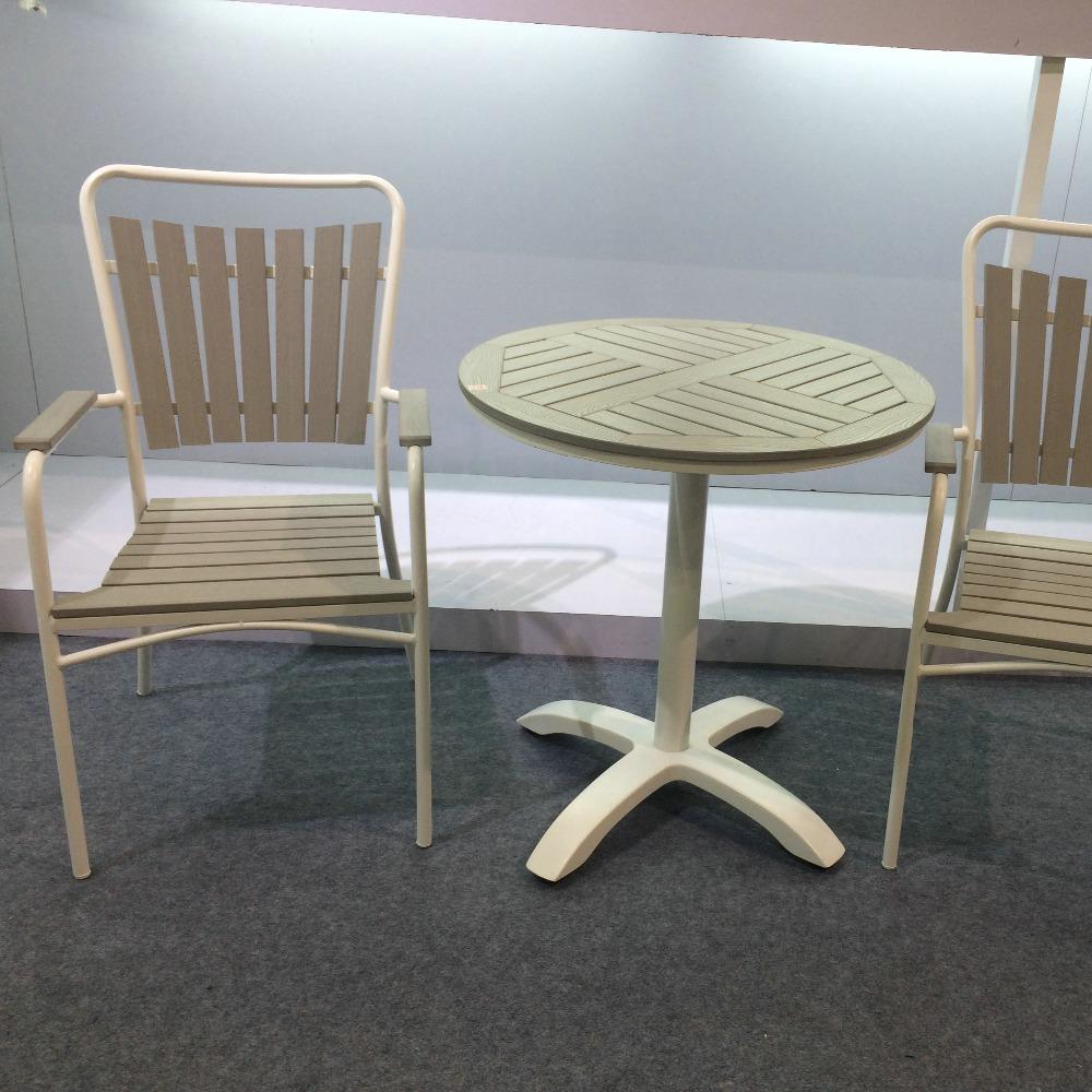 Moderne pas cher en plein air en plastique bois de jardin - Chaise en plastique pas cher ...