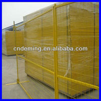 safety fence yellow ( Big factory & exporter )