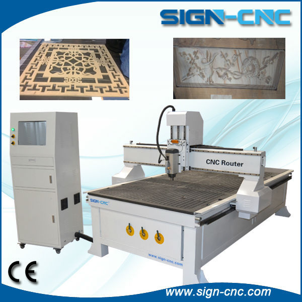 China best sale furniture processing 1325 woodworking cnc route