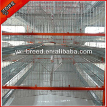 H type 4 tier battery cages laying hens sale for layer in Algeria