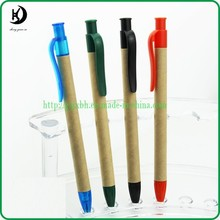 PL-02 Hot-selling promotional custom logo recycle paper ballpoint pen