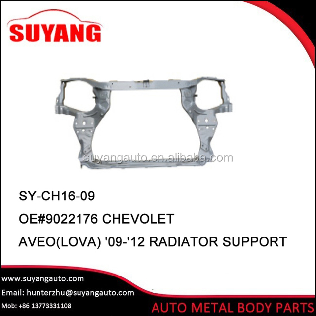 Aftermarket radiator support for chevrolet aveo 2009 body parts