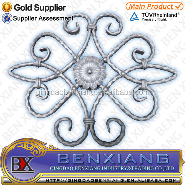 High Quality Casting and Forging Wrought Iron Rosettes Works