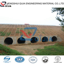 Road culverts drain pipe with high quality produced by 10 years professional factory