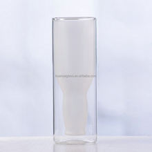 Most selling products beautiful double wall glass cup from alibaba China