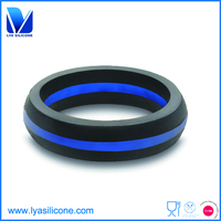 Wholesale silicone wedding ring for Advertisment