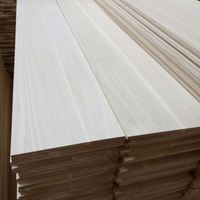 White Wood Timber Paulownia Unsanded Boards with Great Quality