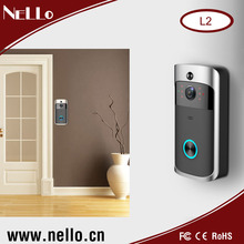 Nello New Version WiFi Ring Video Doorbell 720P H.264 Night Vision Wireless Video Door Bell