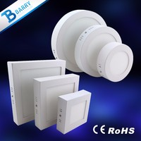 Surface mounted installation restaurant led pop 6w 12w 18w round and square led ceiling light