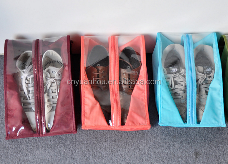Travel Portable Handle Waterproof Shoe Tote Pouch Shoed Storage Bags