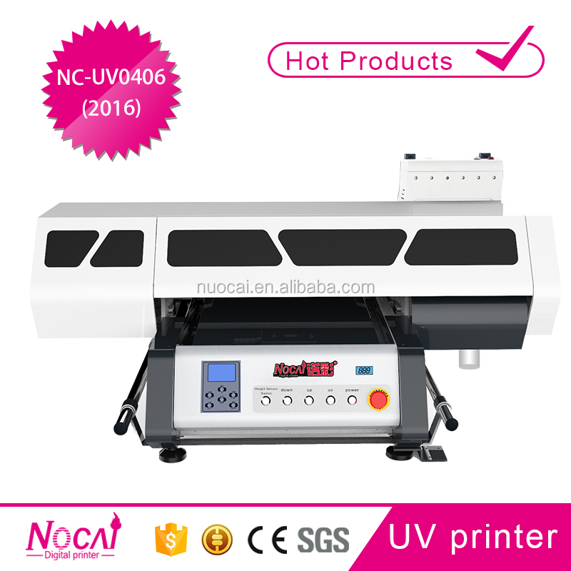 New model uv flatbed printer for wine bottle pencil logo cylinder printing