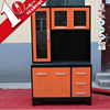 Iron kitchen cabinet new model cabinet Brazil style Kitchen pantry cupboards