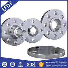 carbon stainless steel large bore flanges