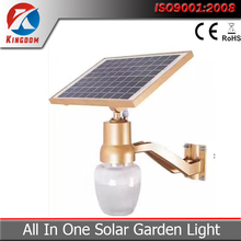 Alibaba China Solar panel light All in one soalr garden light motion sensor light with battery