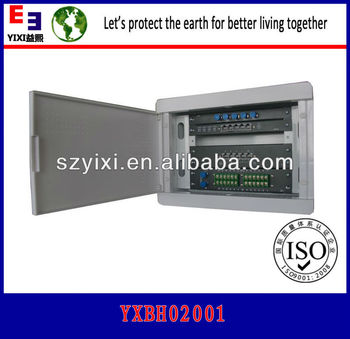 With network module, telephone module, TV module,video monitoring module information box