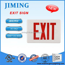 iemergencylight.com -UL&cUL Listed Emergency Lamp LED Exit Sign JEE2RWE -1601301300Z