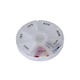 Toprank Wholesale Clear Cut Plastic Medicine Detachable Round Pill Box Travel Portable Weekly Pill Organizer 7 Day Pill Box