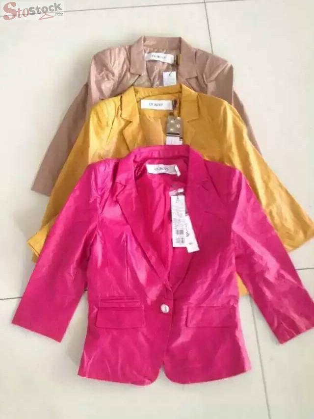 Women's jacket for sale dead stock ready made liquidation stock