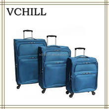 china supplier waterproof boys rolling suitcase for travel