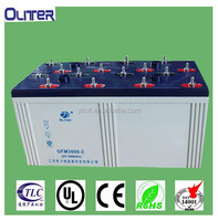 Industry/home solar supply battery 2V deep cycle lead acid battery 2V3000Ah((CE,UL,RoHS,ISO Proofed)