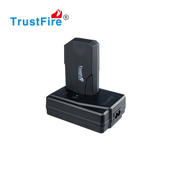 TrustFire BP01 4.2V rechargeable Li-ion Battery Pack 6200mAh for bicycle led flashlight
