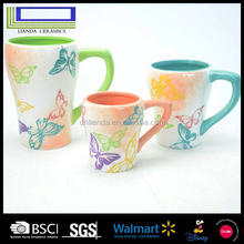High quality gifts SGS test standard creative ceramic beer mug