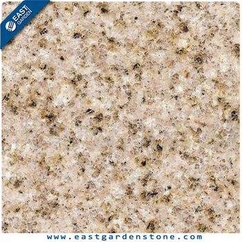 Yellow 2cm thick granite floor tiles 60x60 for stone wall cladding